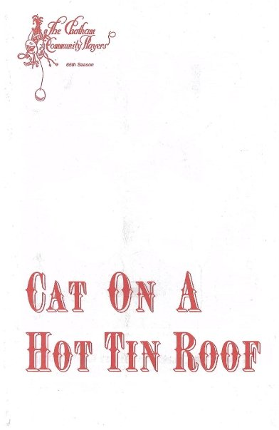 Cat On A Hot Tin Roof (1986)