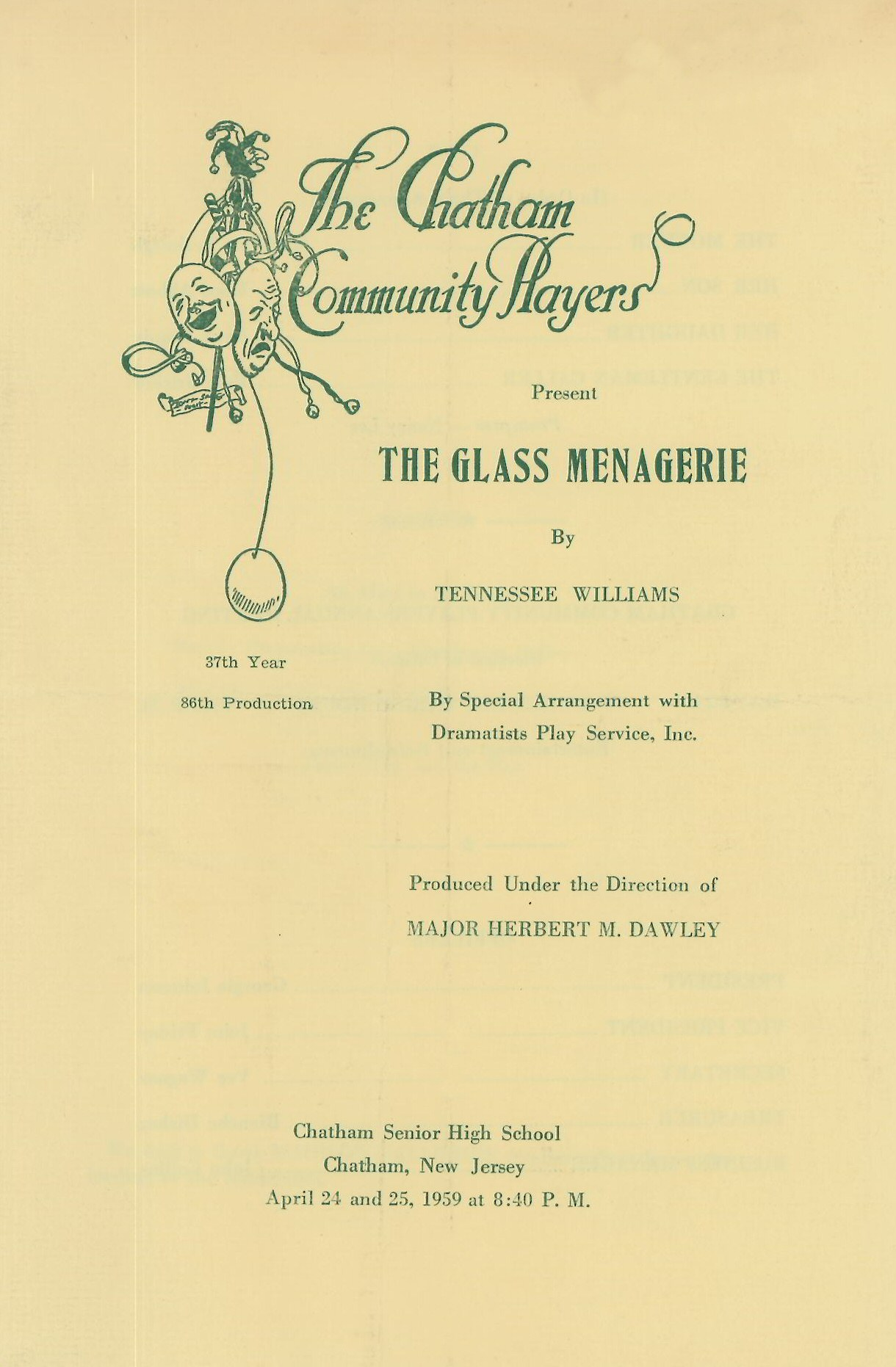 The Glass Menagerie (1959)
