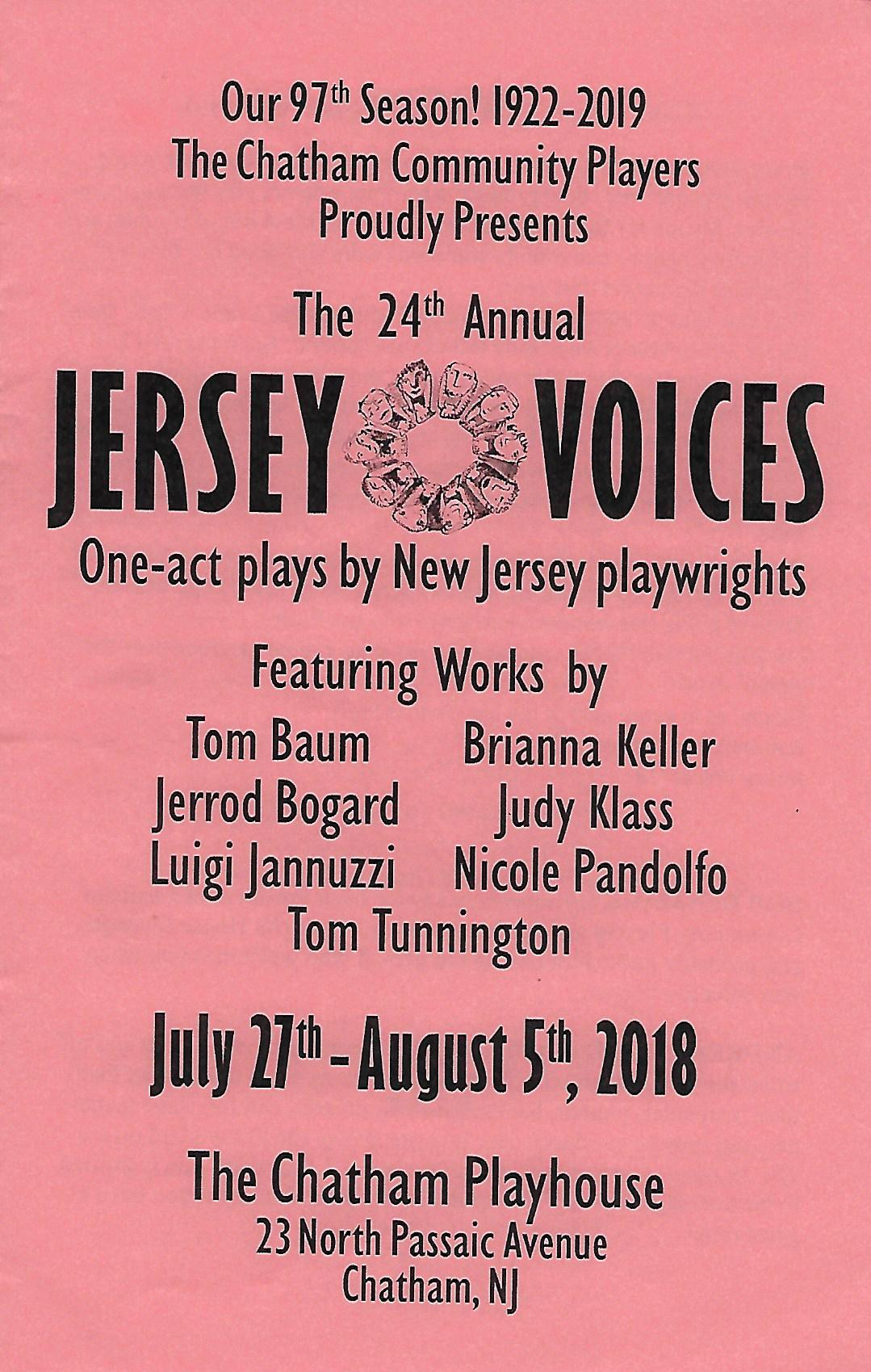 Jersey Voices (2018)