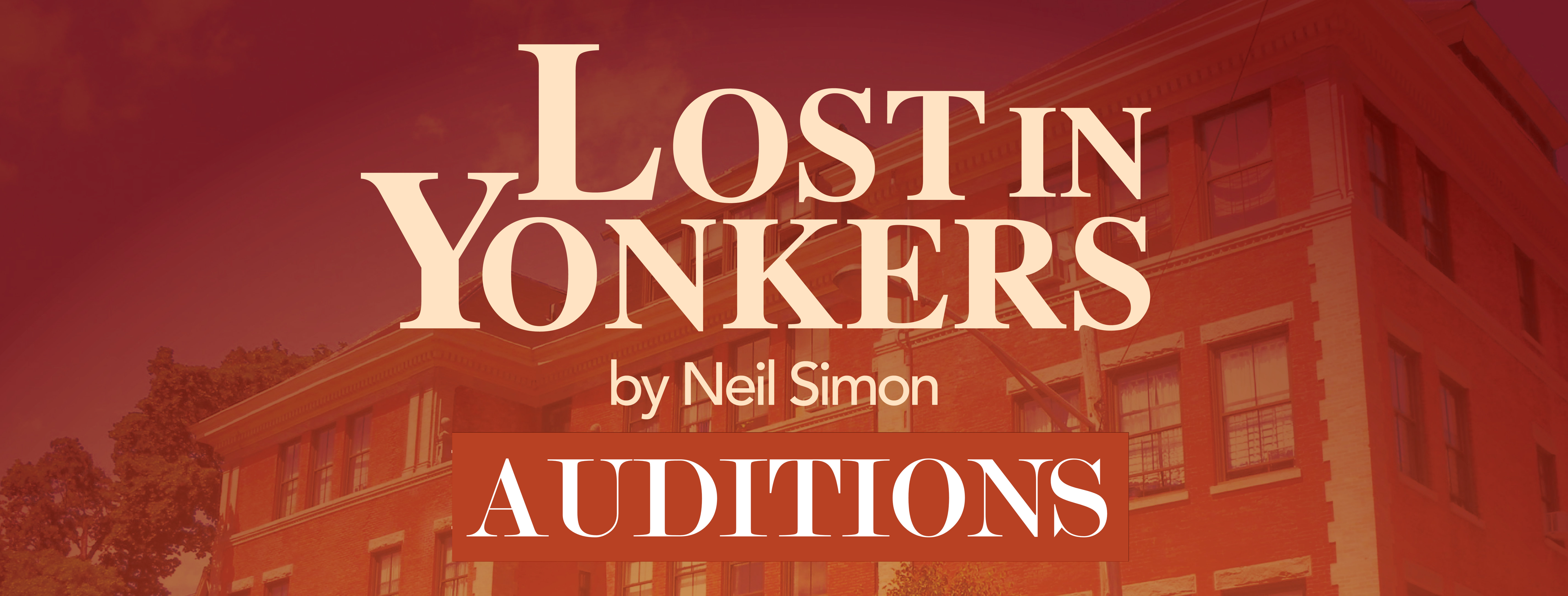 Lost in Yonkers Auditions