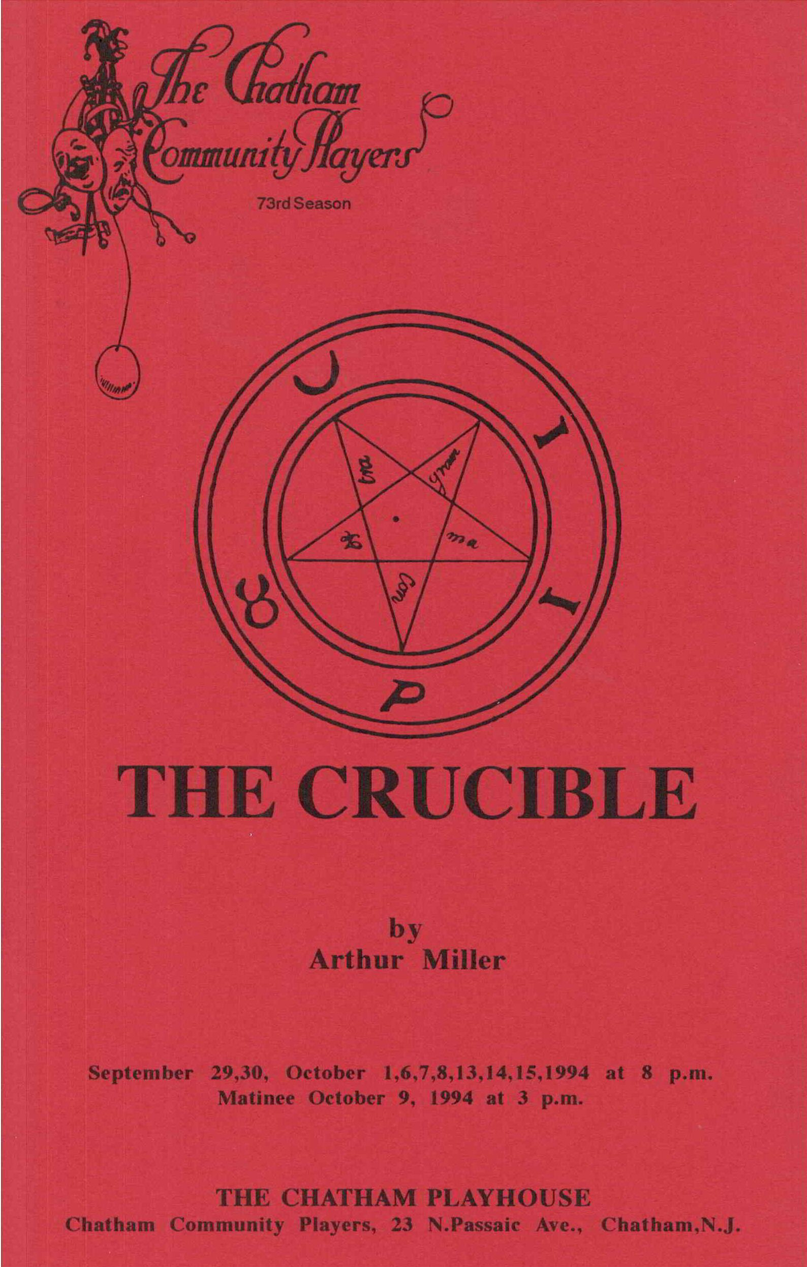 The Crucible (1994)