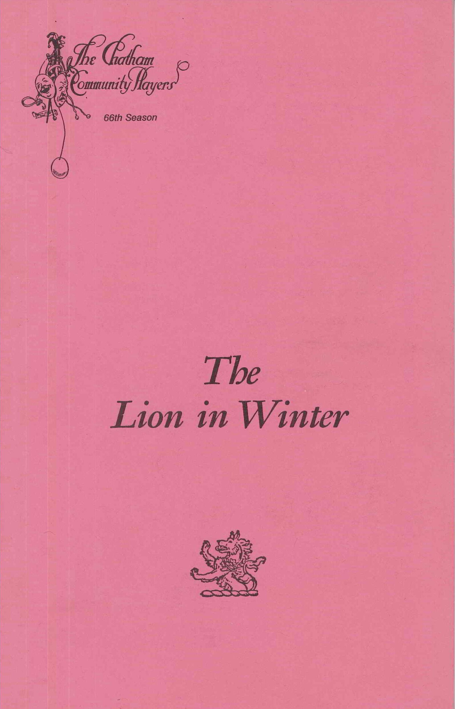 The Lion in Winter (1988)