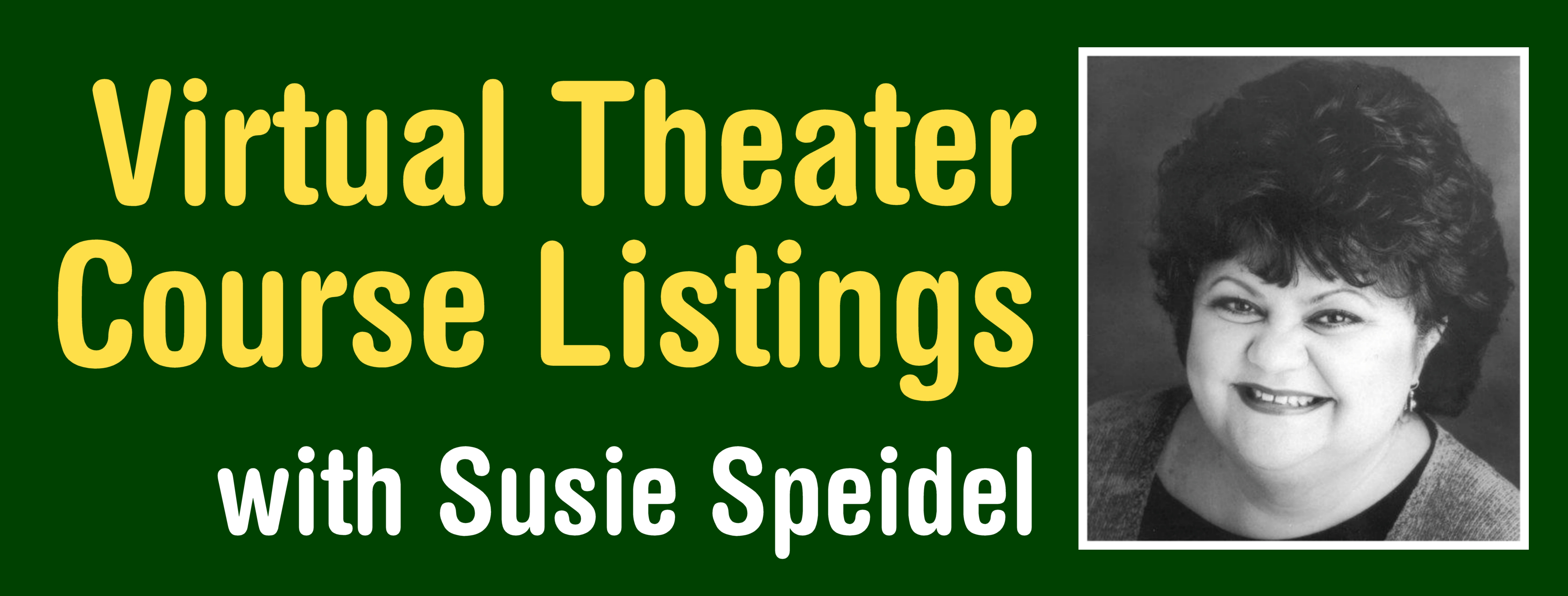 Summer Virtual Theater Course Listings