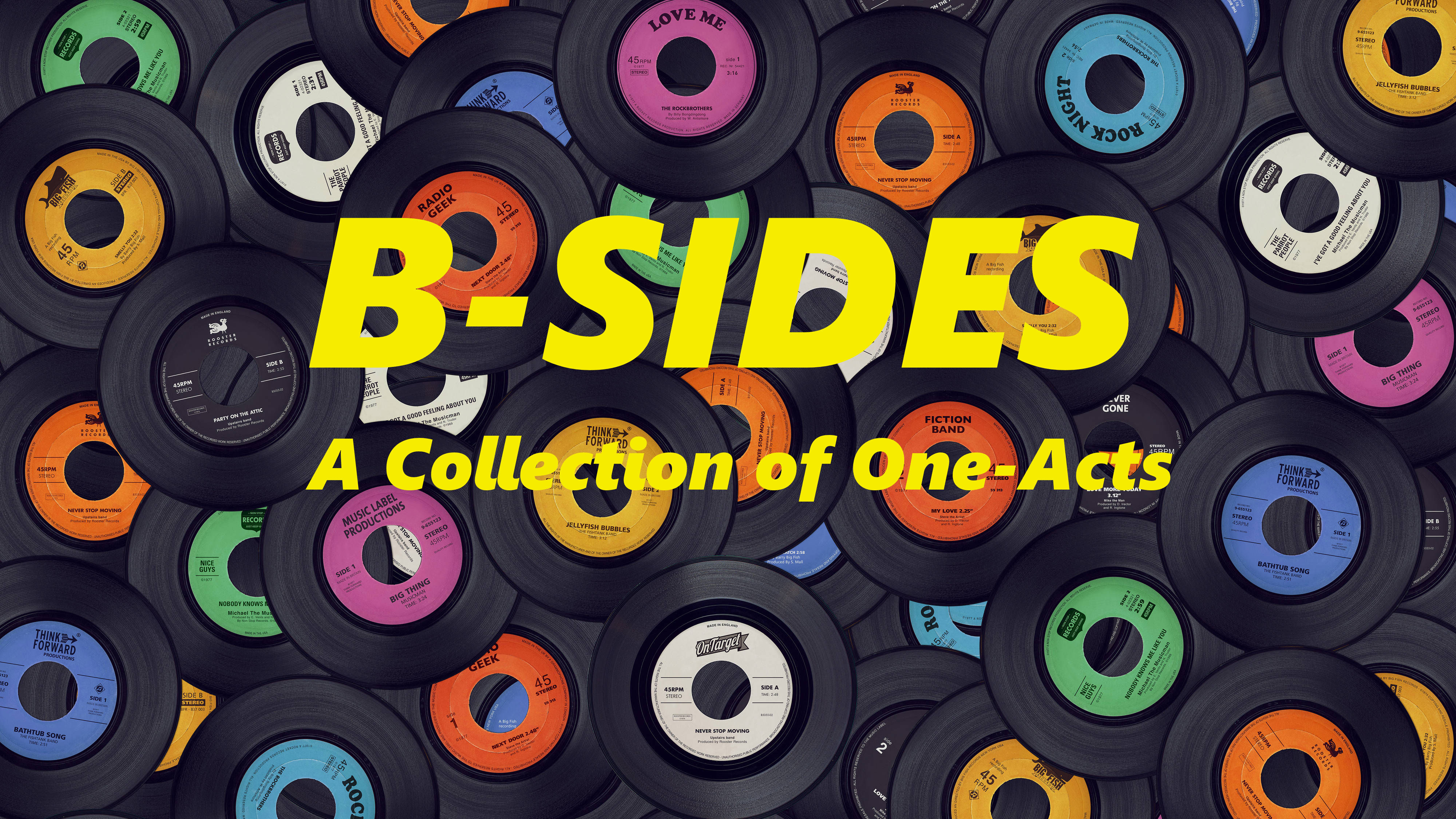B-Sides: A Collection of One-Acts. Staged Reading presented via Zoom