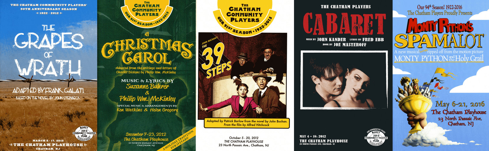 Chatham Players Past Productions